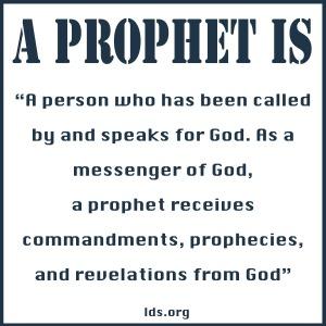 A Prophet is