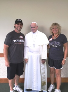 us and the pope